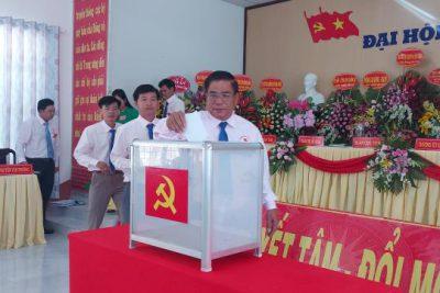 Xã Phong Đông tổ chức Đại hội lần thứ XIII nhiệm kỳ 2020-2025