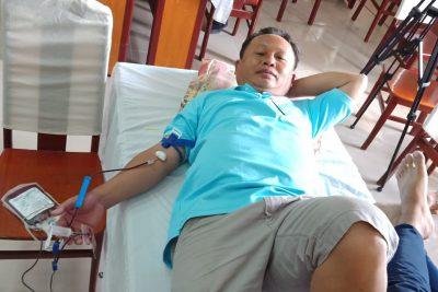 Trường TH&THCS Phong Đông có 05 giáo viên tham gia hiến máu nhân đạo đợt 1 năm 2019