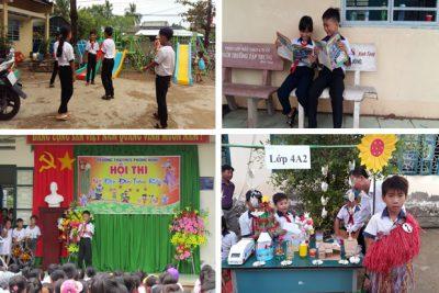 """Học sinh trường TH&THCS Phong Đông """"Mỗi ngày đến trường là một niềm vui"""""""