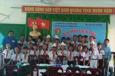 Đại hội Liên đội trường TH&THCS Phong Đông năm học 2018-2019