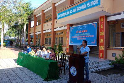 Ra quân trồng tuyến đường hoa chào mừng Đại Hội Đảng bộ tỉnh Kiên Giang lần thứ XI, nhiệm kỳ 2020-2025