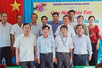 Gặp mặt và chia tay thầy Nguyễn Dũng Tiến và thầy Huỳnh Văn Tú Em về nghỉ hưu theo NĐ108