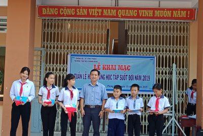 """Trường TH&THCS Phong Đông tổ chức khai mạc """"Tuần lễ học tập suốt đời năm 2019"""""""