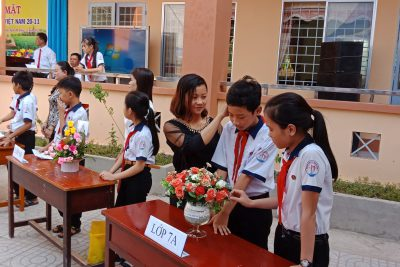 TH&THCS Phong Đông – Ngày Hiến chương Nhà giáo hướng về phụ huynh và học sinh