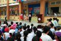 Tết trung thu năm nào cũng thật sự ý nghĩa đối với học sinh trường TH&THCS Phong Đông