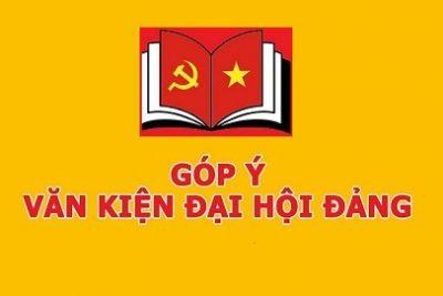 Lấy ý kiến đóng góp văn kiện Đại hội Đại biểu toàn quốc lần thứ XIII của Đảng