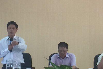 Huyện Vĩnh Thuận làm việc với Đoàn công tác của Bộ Nội vụ về thẩm định hồ sơ xã An toàn khu
