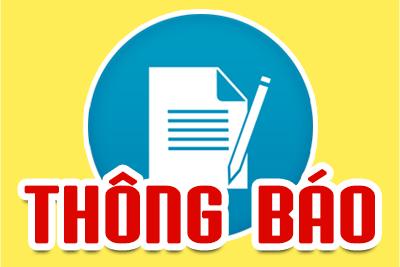 Thông báo dự hội nghị điển hình tiên tiến ngành GD&ĐT huyện Vĩnh Thuận giai đoạn 2015-2020